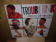 "TROUBLE FUNK woman of principle 12""  MAXI 45T"