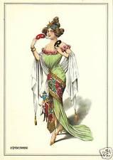 Carte postale  costume  la comédie Française