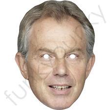 TONY BLAIR Primo Ministro Celebrità Maschera di carta-tutte le nostre Maschere sono pre-tagliati!