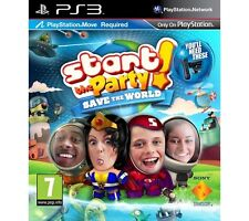 Start the Party: Save the World Sony Playstation 3 PS3 Sealed