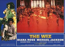 DIANA ROSS MICHAEL JACKSON THE WIZ 1970 VINTAGE PHOTO FRENCH LOBBY CARD N°8 MINT