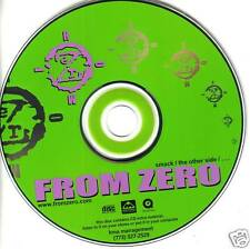 FROM ZERO Limited 3 TRK SAMPLER w/ ENHANCED VIDEO PROMO DJ CD single