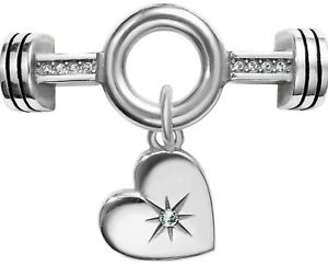 NWT Brighton Color Clique Cord STARLIT Crystal Silver Ornament MSRP $48