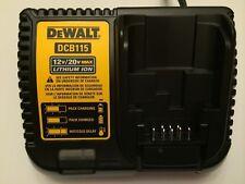 New Dewalt DCB115 12V & 20V Max Li-ion Battery Charger replaces DCB107 & DCB112