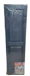 Lowes Vantage Panel Shutters - Classic Series & Raised Panel - Black - NIP