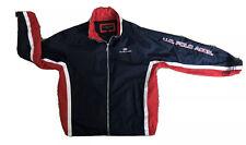 U.S. Polo Assn. Men's Size Large Windbreaker Red White & Blue Jacket