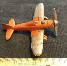 Hubley Airplane Fighter Plane Silver Wings Usa
