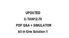 SAP CERTFIED DEVELOPMENT ASSOCIATE -ABAP WITH SAP NETW7.0 Exam QA PDF&Simulator