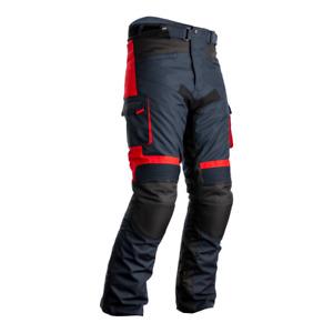 RST 102420 Atlas CE Textile Motorcycle Motorbike Jean - Navy/Black/Red