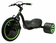 MGP Madd Gear Mini Drift Trike Bambini Downhill Tre-Ruote Authentics Verde