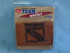 New York NY RANGERS   Leather TriFold Wallet  NIP  brk
