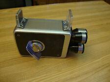 VINTAGE KODAK BROWNIE 8mm MOVIE CAMERA TURRET f/1.9. 8mm LENS 3 LENS