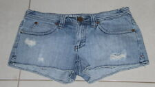 Womens size 9 distressed denim shorts made by ROXY