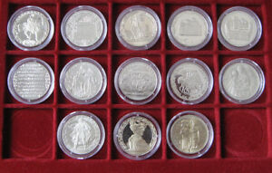 BULGARIA 2 Leva 1981, 1300th Anniversary of Nationhood, Full Coins Set