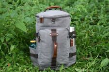 Duffel Backpack color Grey for women