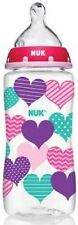 NUK Trendline Bottle Medium Flow Nipple, 0+ months, Color May Vary, 10 oz 2pk