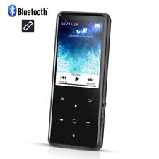 AGPTEK Bluetooth MP3 8GB Lossless Sound Music Player with FM/Voice Recorder MC2B