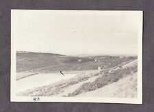 Dated 1952 Oirginal Photo View inland from top of Allum Bay, Isle of Wight