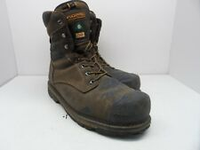 Dakota Men's 8'' Quad Comfort Aluminium Toe Composite Plate Work Boot Brown 13W