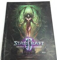 The Art of Starcraft 2 Heart of The Swarm Hardcover Book EUC