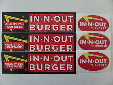 NEW In N Out Burger Note Pad Pen Leeds NOS Discontinued VHTF.