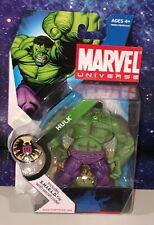 "Marvel Universe 3 3/4"" 3.75"" Green Hulk Action Figure Series 1 #13 NEW"