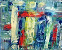 Abstract Painting - Artist Wall Art Home Decor Large Poster / Canvas Pictures