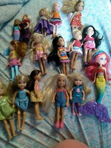 Barbie 16 Chelsea  and Friends Sister Small Doll Lot Chelsea Clothes #521