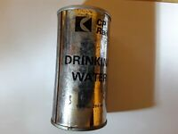Vintage C P Rail Drinking Water Can. Hobby Trains. Capilano Springs Co.Canada
