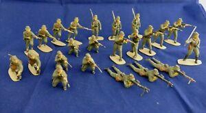 AIRFIX 54mm Japanese Infantry WWII - Lot de 23 soldats peints WWII