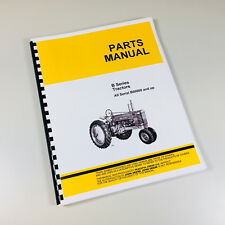 Parts Manual For John Deere B Tractor Bn Bw Bnh Bwh Catalog Book Styled