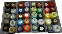 Lote de 40 Ovillos de 5 gramos nº 12 FINCA 100% algodón surtido de colores