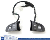HSV VE GTS & Holden VE Commodores SS Steering Wheel Stereo Radio Controls Silver