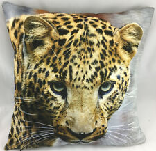 Portrait Print of a Leopard Evans Lichfield Cushion Cover