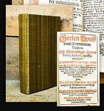 1589 Androzzi de Borja Seelen Speiß unnd Communion-Büchlein