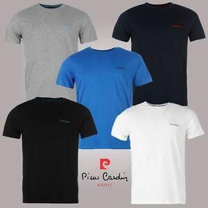 "Tee Shirt Homme ""PIERRE CARDIN"" Col Rond broderie poitrine Polo NEUF"