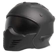 NEW RXT WARRIOR MULTI FIT OPEN FACE CRUISER STREET FIGHTER MOTORCYCLE HELMET