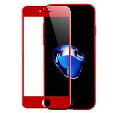 4D New 3D Curved Full Cover Tempered Glass Protector Film for iPhone 7 6 6S Plus