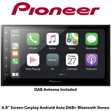 "Pioneer SPH-DA250DAB - 6.8"" Screen Carplay Android Auto DAB+ Bluetooth Stereo"