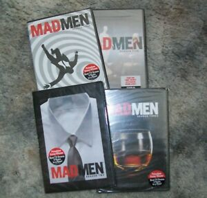 Mad Men: Seasons Two-Three-Four-Five (DVD) Four DVD's each has Four in Box