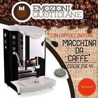 MACCHINA CAFFE A CIALDE IN CARTA 44MM FABER SLOT INOX + CAPPUCCINATORE