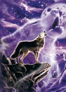 """WOLF SPIRIT"" - A TREE FREE GREETING CARD"