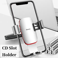 Baseus Auto CD Schlitz Handyhalterung Schwerkraft Halter Anti-Shake