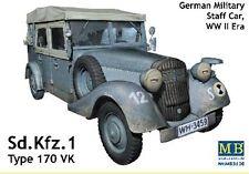 Véhicule Etat-Major Allemand Sd.Kfz.1 Type 170 VK, KIT MASTER BOX 1/35 -REF 3530