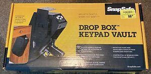"""SnapSafe Drop Box Keypad Vault 13.5"""" x 7.5"""" x 3.6"""" Electronic Gun Safe NEW"""