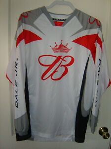 Men's CHASE Bud Dale Jr. Long Sleeve T-Shirt Size Lrg 100% Poly Breathable NICE