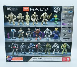 Mega Construx Pro Halo 20th Anniversary Character 5 Pack Amazon Exclusive NEW