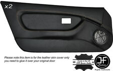 CREAM STICH 2X FULL DOOR CARD TRIM LEATHER COVERS FITS MG MGF MK1 95-99 STYLE 2
