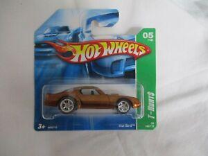 Hot Wheels 2008 Super Treasure T-Hunt $ Hot Bird Mint In Short Card