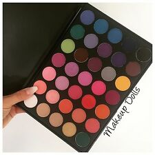 Make Up Eyeshadow Palette 35 Colour Pigmented Powder Color Glam UK seller 35B